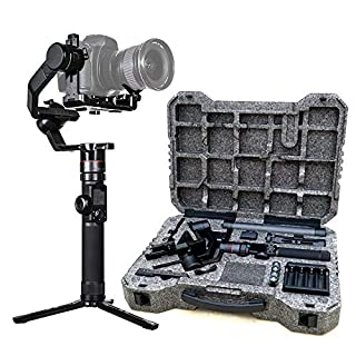 FeiyuTech Official AK4000 3-Axis Handheld DSLR Camera Stabilizer Gimbal for Canon/Nikon/Sony/Panasonic DSLR Camera,Max Payload 8.8lb