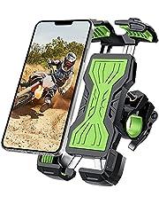 YOCKTECH Telefoonhouder voor fiets, 360° verstelbare fiets motorfiets telefoonhouder, fiets telefoonhouder voor iPhone 12 Pro Max/11 Pro/XR/XS Max, Galaxy S20/S10/Note 10 en alle 4,7-6,8 inch