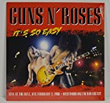 GUNS N' ROSES It's So Easy: Live At The Ritz: NYC, February 2, 1988 Westwood One FM Broadcast [VINYL] Vinyl LP Limited Edition