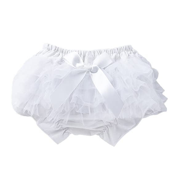 ALIKEEY Toddler Baby Infant Girl Bowknot Ruffle Bloomer Nappy Ropa Interior Panty Pañal Bebe Nina Medias