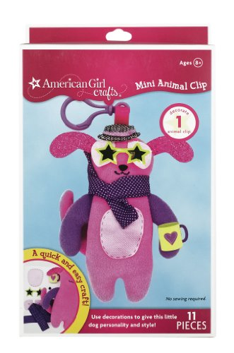 EK Success American Girl Crafts Mini Animal Clip, Dog