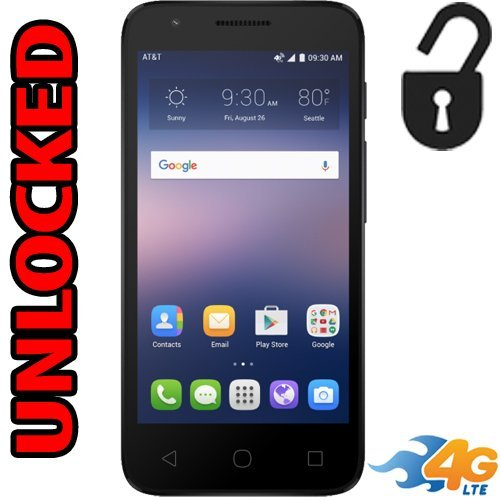 Alcatel Ideal 4G LTE Unlocked 4060A Android 5mp