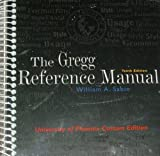 The Gregg Reference Manual, Gregg and William A. Sabin, 0073137693