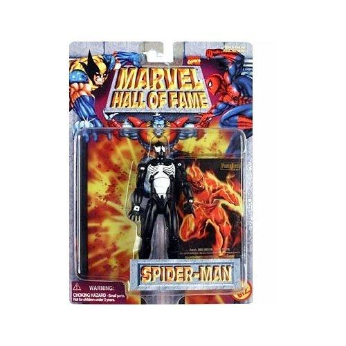 Toy Biz Marvel Hall of Fame Spider-Man (Black - Marvel Fame Of Hall