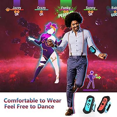 MoKo Correa de Muñeca Compatible con Joy-con Nintendo Switch Dance ...