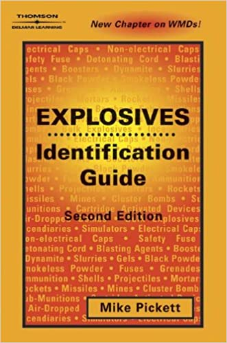 Book Explosives Identification Guide