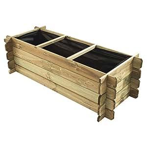 Jardipolys M231574 - Huerto urbano de madera nikolo