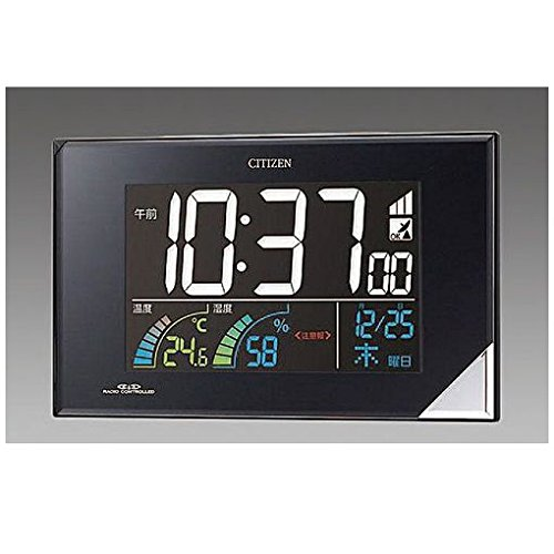【キャンセル不可】FL80085 112x196x30mm【電波】掛置兼用時計 B019EV4CB8
