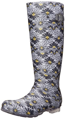 Kamik Womens Daisies Rain Boot Black