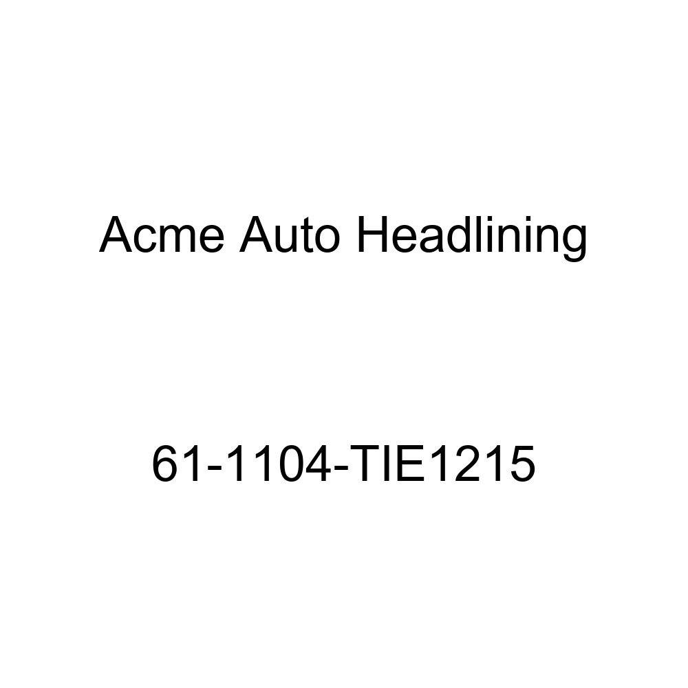 1961 Buick Lesabre 2 /& 4 Door Sedan 6 Bows Acme Auto Headlining 61-1104-TIE1215 Turquoise Replacement Headliner