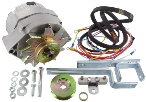 Belt Alternator Starter (New Ford 600-4000 Tractor Alternator Conversion Kit w/4cyl)