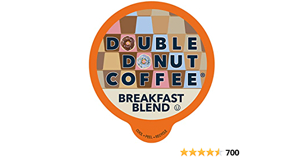 Breakfast Blend Coffee Pods Medium Roast Coffee, Single-Serve Pods for Keurig K Cup Brewer Machines, 80 Pack