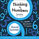 Thinking in Numbers Audiobook by Daniel Tammet Narrated by Daniel Tammet