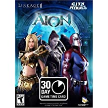PlayNC 30-Day Game Time Card (AION, Lineage II: The Chaotic Throne, & City of Heroes)