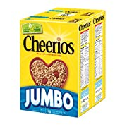 Amazon Canada 1 kg cheerios jumbo cereal $4.89 (add-on) or as low as $4.16 with S&S