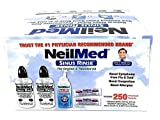Neilmed Sinus Rinse All Natural Relief Premixed Refill Packets 250 Count, Pack of 2
