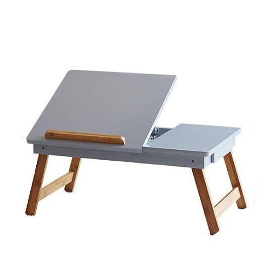 WFGZQ Escritorio Plegable para Computadora, Dormitorio para ...