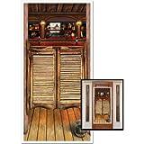Beistle 57127 Saloon Door Cover, 30-Inch by 5-Feet