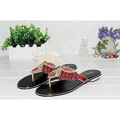 c24df4fa7 50% de descuento Zapatos de Mujer Primavera Verano Nuevo Chancletas  Sandalias Confort Talón Plano Puntera