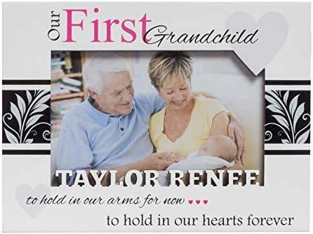 Granddaughter Frame First Grandchild Frame Sweet Grandson Frame Grandson Frame Studio1workshop Personalized Baby Picture Frame Grandparents Frame Grandparents Picture Frame