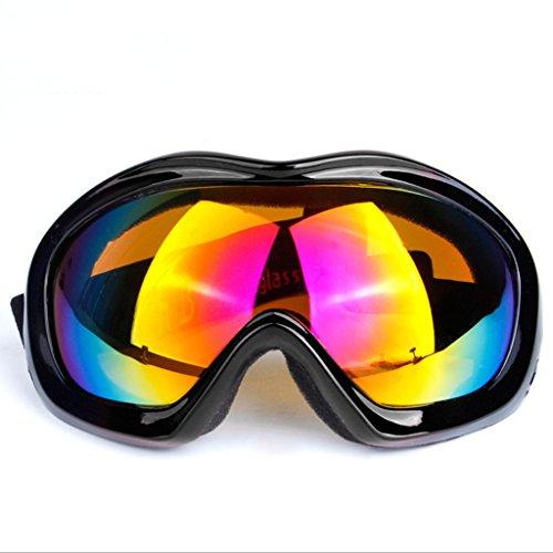 A Capa de de de explosiones esférica Lente Ojo Espejo Gafas Parabrisas de Vidrios Prueba PC una D a esquí Prueba Viento Sola q8x7Z7nwT