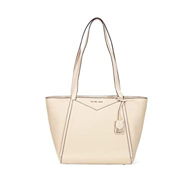 9068f0b106e530 Michael Kors Tote Bag For Women - Cream (30T8TN1T1L-160): Amazon.ae