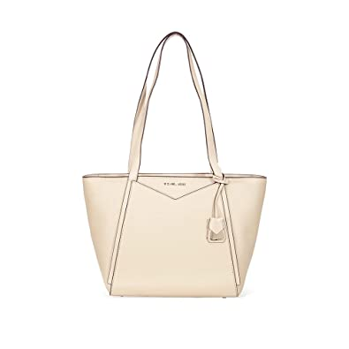 695d473e5df2 Michael Michael Kors Whitney Small Top Zip Leather Tote