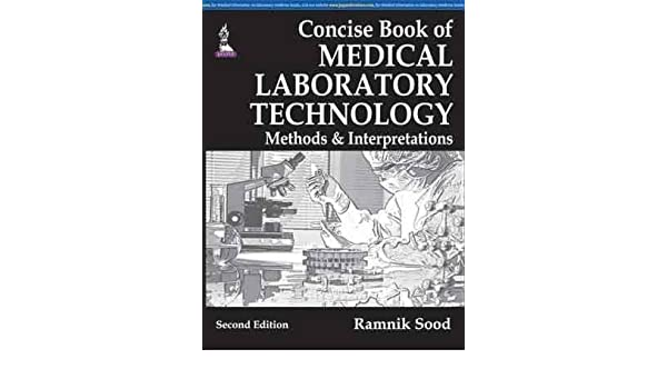 Textbook Of Medical Laboratory Technology By Ramnik Sood Pdf