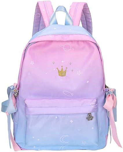 Amazon Com Hmlai Kids Backpack Girls Boys Student Crown Print