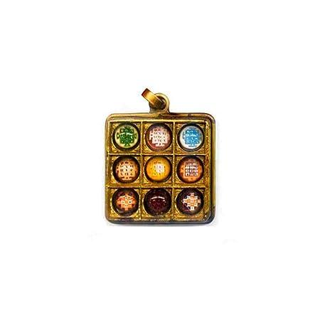 Indian Handicrafts Export Navgriha (Navgreh) Yantra Pendant