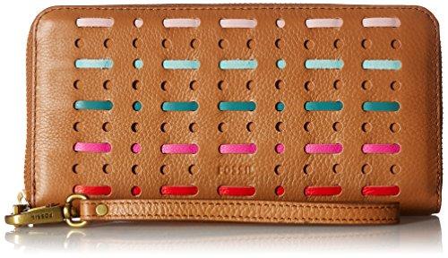 Emma Large Zip Wallet Wallet, Multi, One Size by Fossil
