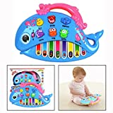 OFKPO Toddler Keyboard Piano Musical Toy For Kids With Different Animal Voice Piano Note Color Recognition Learning and Development Fun Toddler Toys