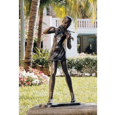Design Toscano The Young Violinist Statue