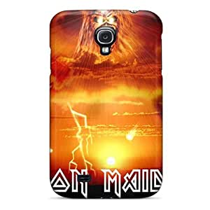 For Galaxy S4 Premium Tpu Case Cover Iron Maiden Protective Case