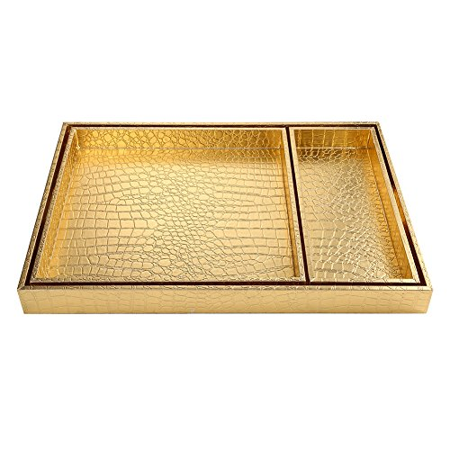 breakfast tray gold - 8