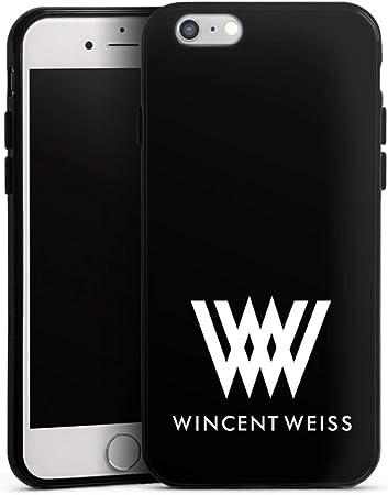 DeinDesign Silikon H/ülle kompatibel mit Apple iPhone 6 Case wei/ß Handyh/ülle Offizielles Lizenzprodukt 1 FC Union Berlin B/är