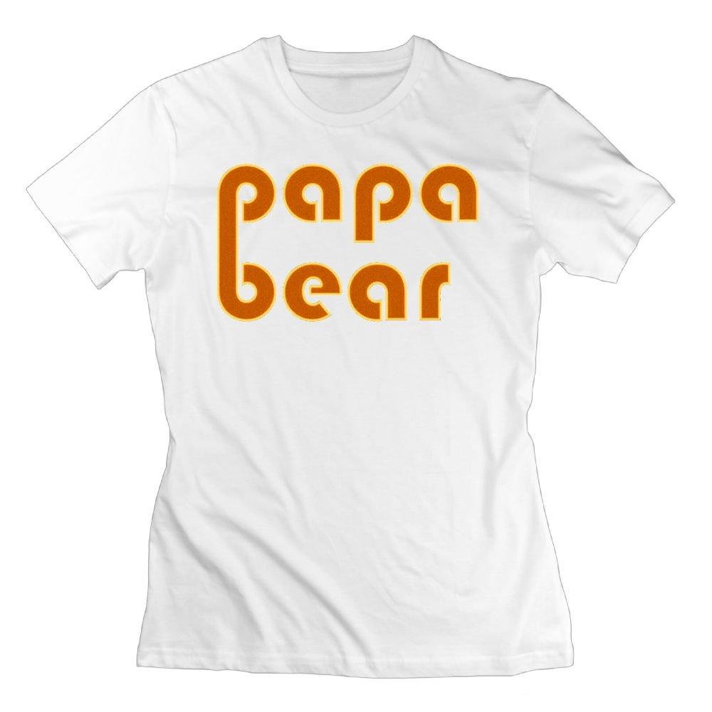 Wulion Papa Bear S Soft Short Sleeve T Shirt
