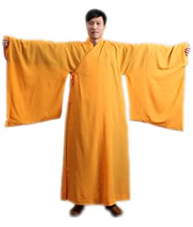 8b95f69a22 Amazon.com   Thai Buddhist Monk Robes Jee worn 4 color   Orange ...