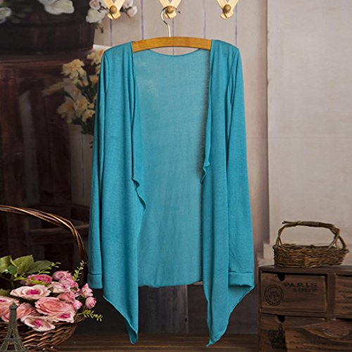 SKY Female transparent long-sleeved air-conditioning cardigan ultra-thin in a long section of sunscreen shawl small jacket H