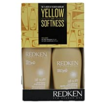 Redken ALL SOFT Shampoo 10.1oz & Conditioner 8.5oz With Argan Oil NEW by Redken