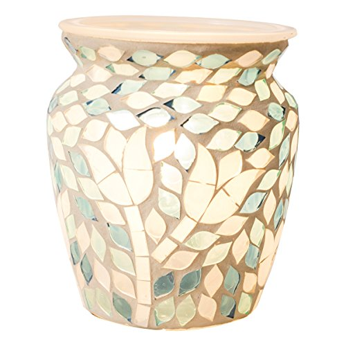Mosaic Scented Wax Warmer - (Garden Delight)