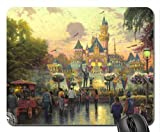 Disneyland 50th Anniversary Mouse Pad, Mousepad (Amusement Parks Mouse Pad) (Disneyland 50th Anniversary)