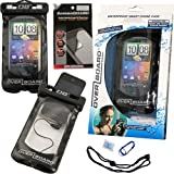 Waterproof Cell Phone Case with Headset Jack and 2 Pack of Screen Protectors for Samsung Galaxy S III