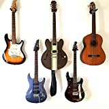 Guitar Wall Mount Hanger 4-Pack, Moodve