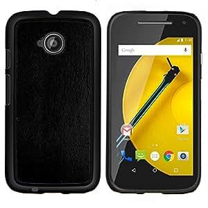 Stuss Case / Funda Carcasa protectora - Cuero Gris Textura de madera del grano - Motorola Moto E ( 2nd Generation )
