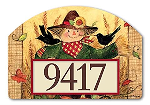 Yard DeSign Give Thanks Scarecrow Yard Sign #71212 - Magnetic Yard