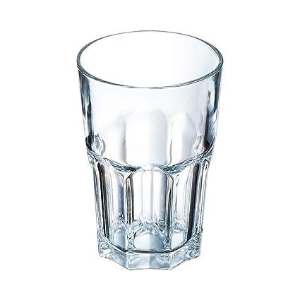 Arcoroc Granity FH42 - Long Drink - Vasos apilables de 420 ml, sin ...