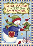Legacy of Faith Deluxe Boxed Christmas Cards with Scripture, The Lord God Loves them All, 20-Count