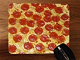 Pepperoni Pizza Desktop Office Silicone Mouse Pad offers