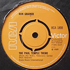 The Paul Temple Theme: Ron Grainer: Amazon.es: Música